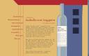 Website-Entwurf mit Flasche